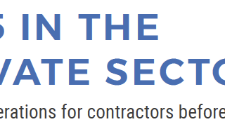 IR35 in the Private Sector - Key considerations for contractors before April 2020