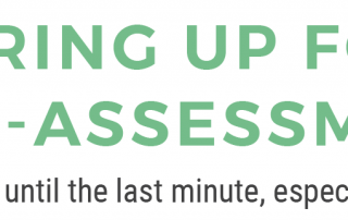 Gearing Up for Self-Assessment - Don't leave it until the last minute, especially in 2020