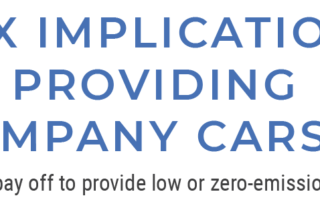 Tax Implications of Providing Company Cars - Does it pay off to provide low or zero-emission cars?