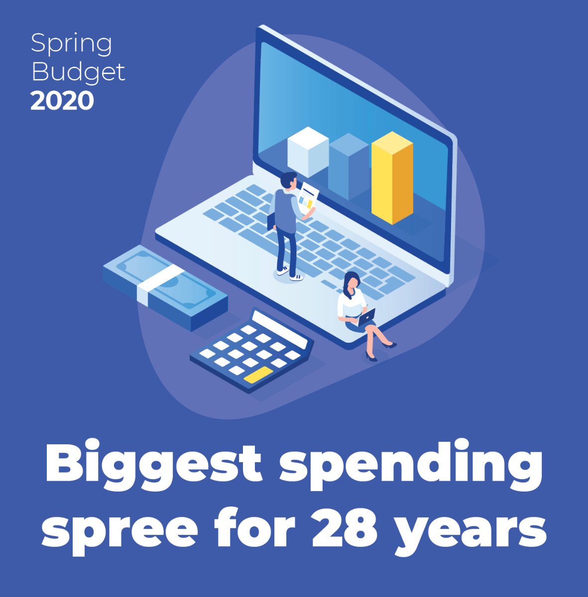 Biggest spending spree for 28 years