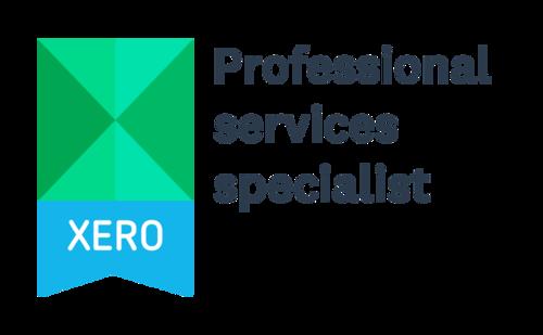 Xero professional services specialist badge