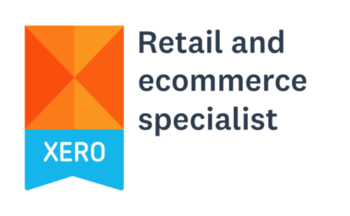 Xero retail and ecommerce specialist badge