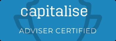 Capitalise - Adviser Certified badge