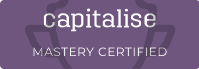Capitalise - Mastery Certified badge